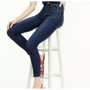 J.Crew Lookout High Rise Skinny Jean Blue